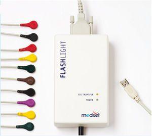 Digital electrocardiograph / computer-based / 12-channel FLASHLIGHT Sensor Medset Medizintechnik