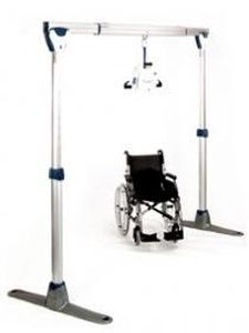 Ride-on patient lift Easytrack FS Joerns Healthcare