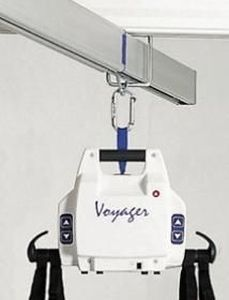 Transportable patient lift Voyager Joerns Healthcare