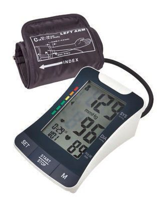 Automatic blood pressure monitor / electronic / arm BP2500 Medquip