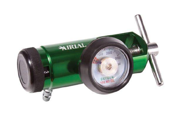 Oxygen pressure regulator / adjustable-flow 0.125-8 L/min   MQ4200 Medquip