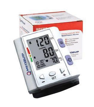 Automatic blood pressure monitor / electronic / wrist BP2200 Medquip