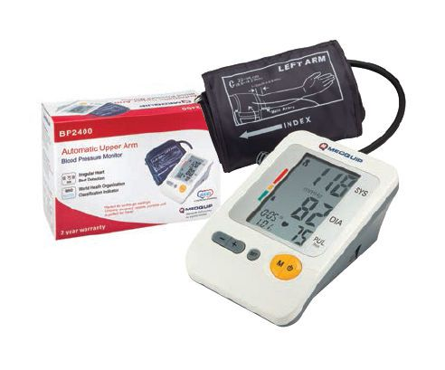 Automatic blood pressure monitor / electronic / arm BP2400 Medquip