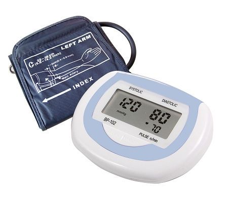 Automatic blood pressure monitor / electronic / arm BP2600 Medquip