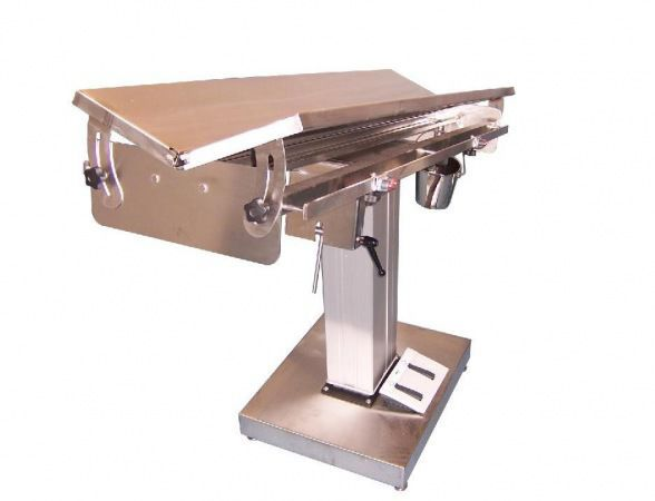Veterinary operating table / electrical / lifting / height-adjustable McDonald Veterinary Equipment