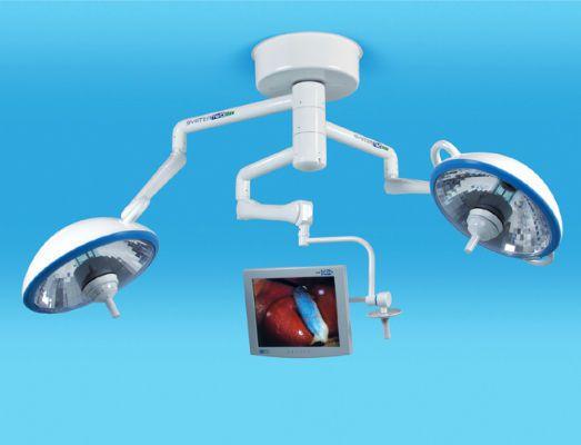 HID surgical light / 3-arm MH Trio Medical Illumination International