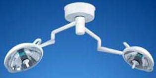 Halogen surgical light / ceiling-mounted / 2-arm S1 Duo Medical Illumination International