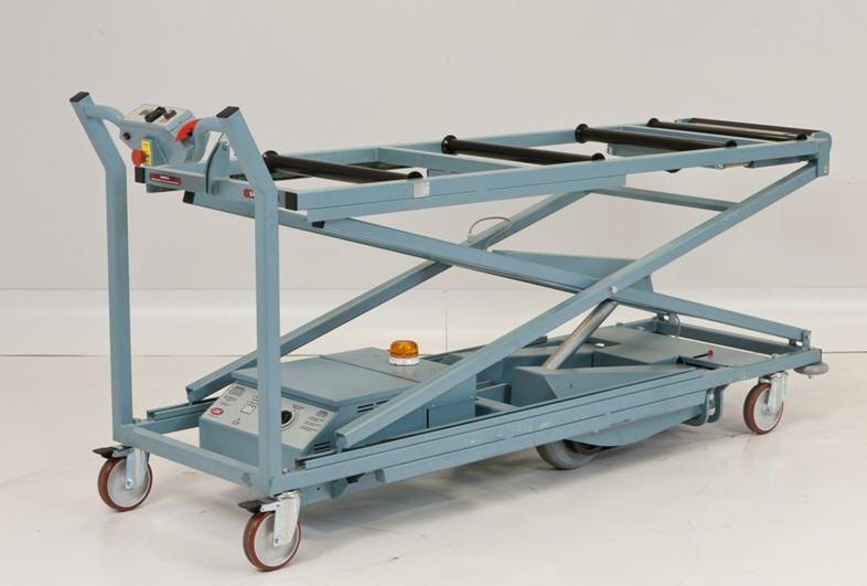 Mortuary trolley / lifting / electro-hydraulic 320 Kg | TST LEEC