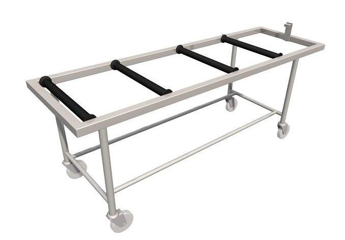 Mortuary trolley / transfer LEEC