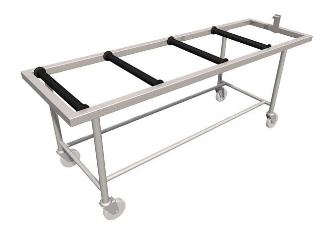 Transfer trolley / mortuary LEEC