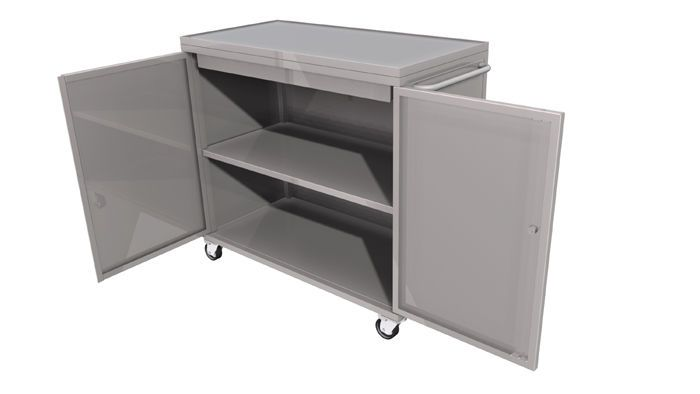 Storage cabinet / embalming fluid / for healthcare facilities LEEC