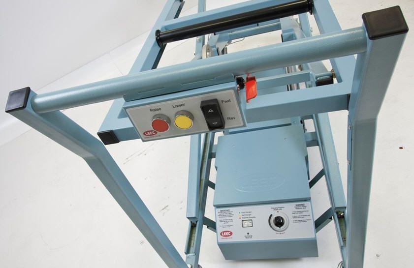 Mortuary trolley / loading / lifting / hydraulic 256 Kg | PST LEEC