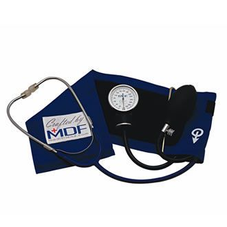 Cuff-mounted sphygmomanometer / with stethoscope MDF® 808 MDF Instruments