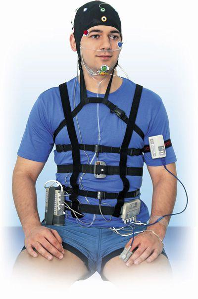 Ambulatory polysomnograph / with EEG / video Medicom MTD