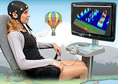 Electroencephalograph with neurofeedback evaluation Rehacor-T Medicom MTD