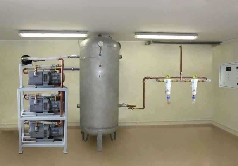 Medical vacuum system / rotary vane Medical Technologies