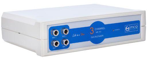 Laboratory gas blender 100 series MCQ Instruments