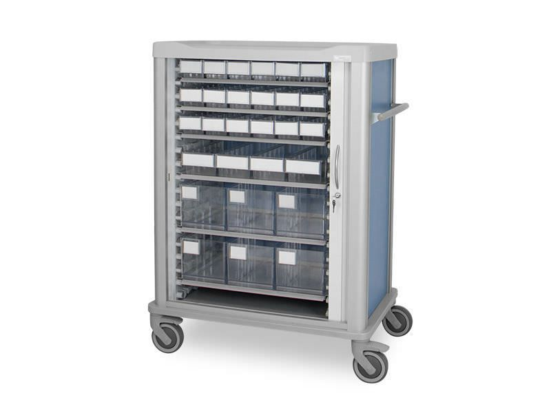 Medicine distribution trolley / multi-function C-6040-1115 Lapastilla Soluciones Integrales SL