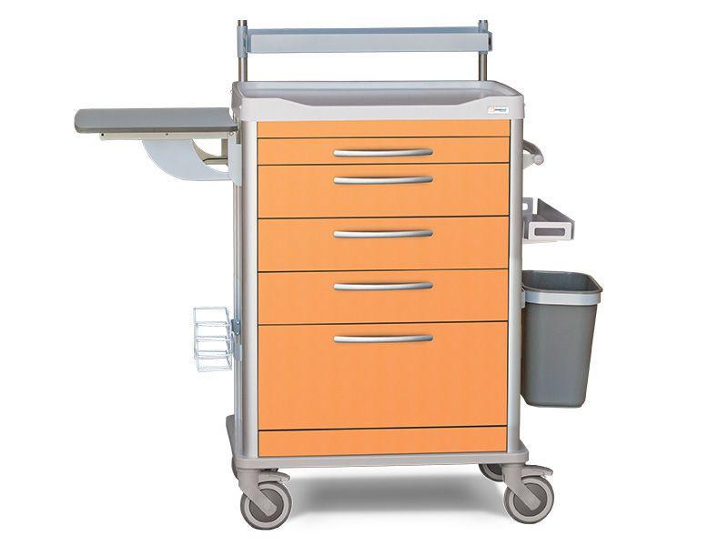 Treatment trolley / 5-drawer D-TREAT Lapastilla Soluciones Integrales SL