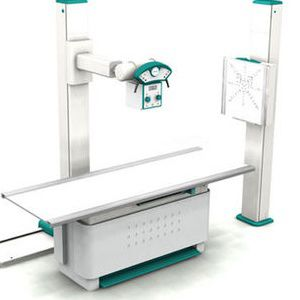 Radiography system (X-ray radiology) / digital / for multipurpose radiography / with vertical bucky stand DDR MAK 2000 Medicatech USA