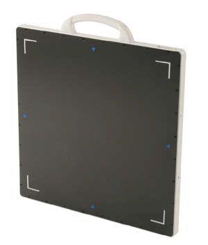 Multipurpose radiography flat panel detector / portable KrystalRad 960 Medicatech USA