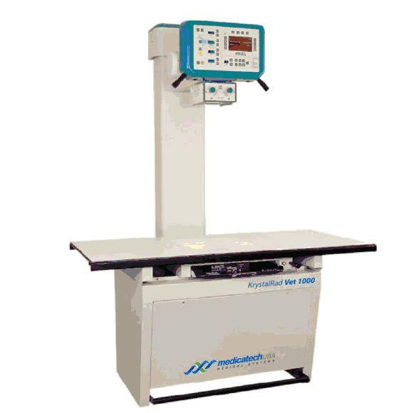 Digital veterinary X-ray radiology system / whole-body veterinary X-ray / with table KrystalRad Vet 1000 Medicatech USA