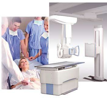 Radiography system (X-ray radiology) / digital / for multipurpose radiography / with ceiling-suspended telescopic tube-stand DDR MAK 3000 Medicatech USA