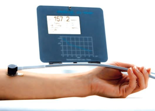 Oxygen pressure monitor / transcutaneous PRÉCISE 8001 medicap homecare
