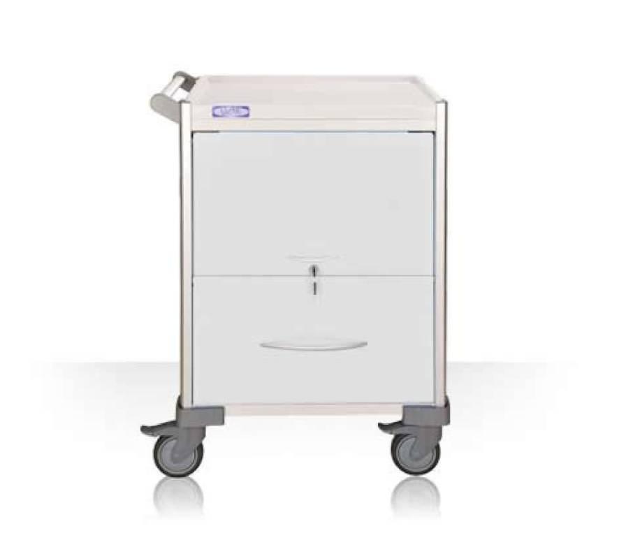 Medical record trolley / horizontal-access LX34FDT Machan International Co., Ltd.