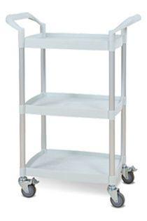 Treatment trolley / 3-tray UC2530 Machan International Co., Ltd.