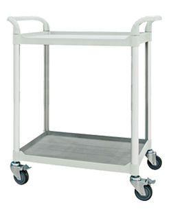 Treatment trolley / 2-tray FC2804 Machan International Co., Ltd.