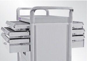 Treatment trolley / with drawer FC3432DXL Machan International Co., Ltd.