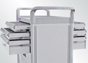 Treatment trolley / with drawer FC3440DXL Machan International Co., Ltd.