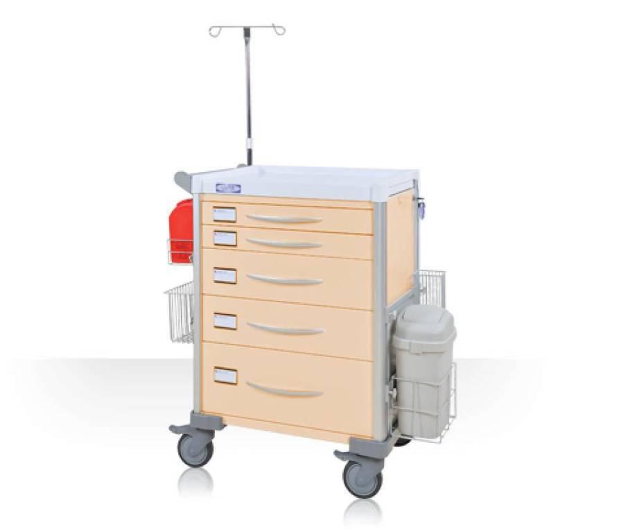 Treatment trolley / with drawer LX34PRO Machan International Co., Ltd.