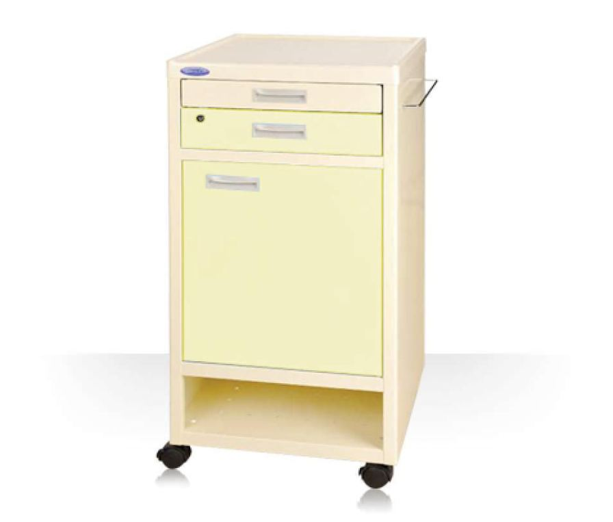 Bedside table / on casters BC37BL Machan International Co., Ltd.