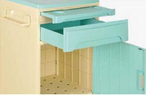Bedside table / on casters BC35GR Machan International Co., Ltd.