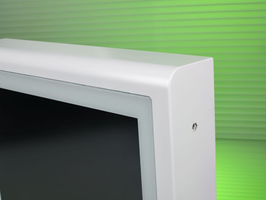 """Medical panel PC with touchscreen / fanless 19"""" 