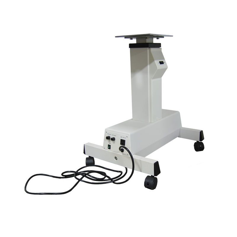 Electric ophthalmic instrument table / height-adjustable / on casters Kowa American Corporation