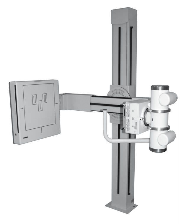 Radiography system (X-ray radiology) / digital / for multipurpose radiography / with swiveling tube-stand DigiRoebs Basic Medigration