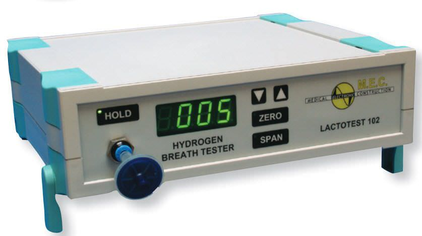 Hydrogen monitor exhaled Lactotest 102 MEC Medical Electronic Construction R&D