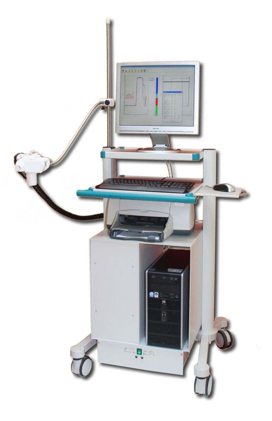 Pulmonary function testing system Diffusion100 MEC Medical Electronic Construction R&D