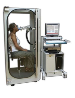 Body plethysmograph Bodybox100 MEC Medical Electronic Construction R&D