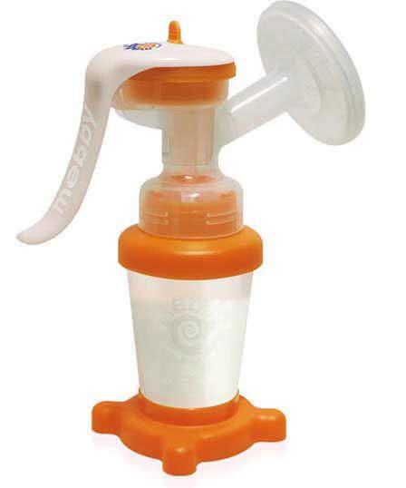 Manual breast pump / portable GENTLEFEED MANUAL Mebby