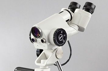 Binocular colposcope / mobile 1DW LED Leisegang Feinmechanik Optik