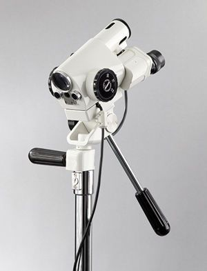 Binocular colposcope / video / mobile 3MVC LED USB Leisegang Feinmechanik Optik
