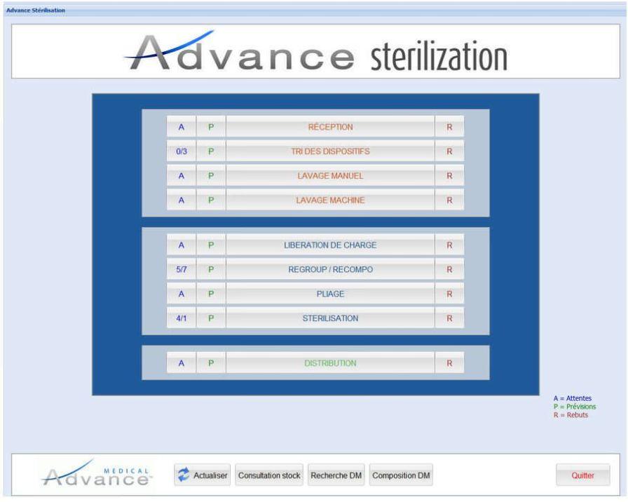 Management software / medical / for sterilization service ADVANCE Medical advance