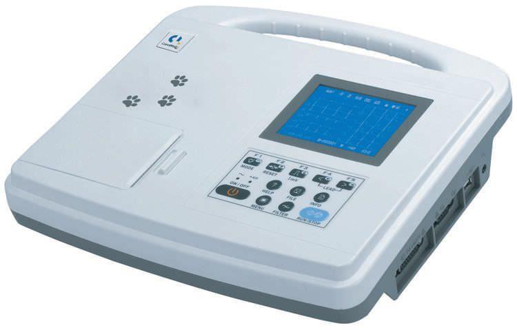 Digital veterinary electrocardiograph / 1-channel MODEL 250V Mediaid Inc.