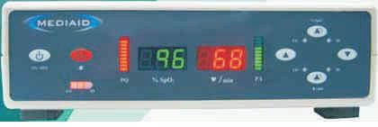 Pulse oximeter with separate sensor / table-top MODEL 31DT Mediaid Inc.