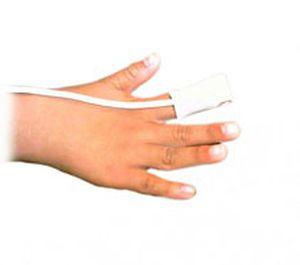 Fingertip SpO2 sensor / disposable / pediatric Mediaid Inc.