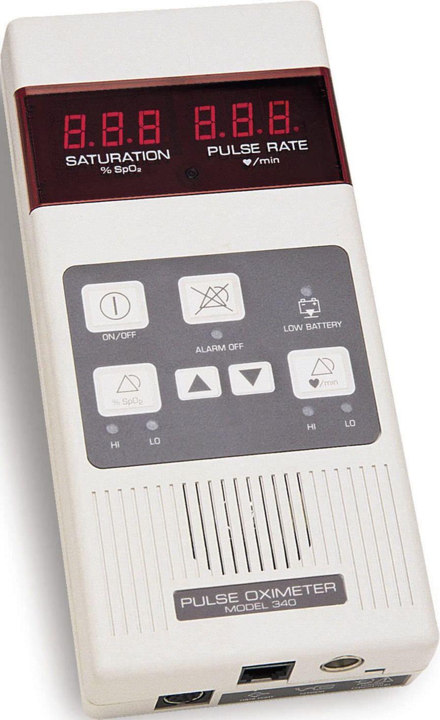 Handheld pulse oximeter / with separate sensor 0-100 % SpO2 | MODEL 340 Mediaid Inc.